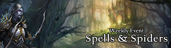 Spells and Spiders Blog