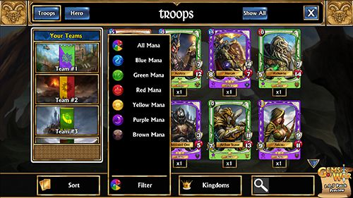 New Troop Collection